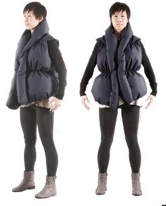 """The Hug Jacket - uses data from Facebook to """"hug"""" users when someone """"likes"""" your post"""