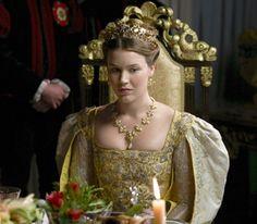 Joss Stone as Anne of Cleves, The Tudors Ana De Cleves, Anne Of Cleves, Anne Boleyn, Dinastia Tudor, Los Tudor, Tudor Costumes, Period Costumes, Narnia, Katharina Von Aragon