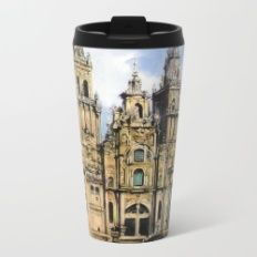 Catedral de Santiago de Compostela/Santiago de Compostela Cathedral Metal Travel Mug