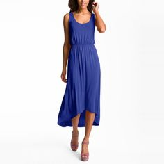 10 Best Casual Summer Dresses- #10 Felicity & Coco High/Low Hem Jersey Tank Dress #rankandstyle