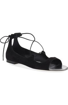 Jimmy Choo 'Vernie' Lace-Up Sandal (Women) available at #Nordstrom