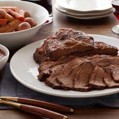 Braised Brisket with Root Vegetables     #holiday #Hanukkah #beef #meat #dinner