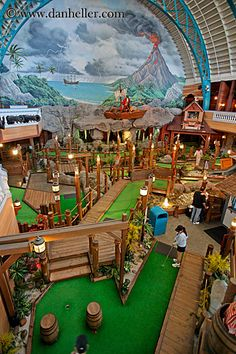 National Miniature Golf Day, September 21.  Hmm, indoor...