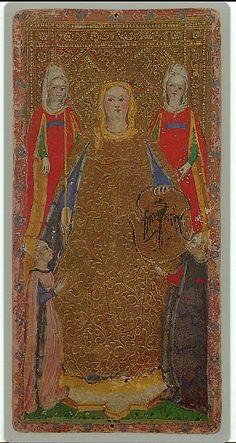 002-La emperatriz -Cary-Yale Visconti Tarot Deck | www.odise… | Flickr