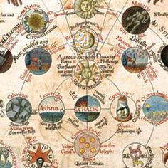 The Bibliotheca Philosophica Hermetica brings together manuscripts and printed works in the field of the 'Christian Hermetic'. Medieval Manuscript, Illuminated Manuscript, Rose Croix, Open Project, Everything Is Connected, Halloween Books, Fb Page, Sacred Geometry, Occult