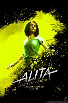 Alita the battle angel poster - Alita: Battle Angel is a movie visited by cyborgs found in the Iron Town dumpsite. Alita Movie, Female Cyborg, Angel Movie, Streaming Tv Shows, Fox Movies, Battle Angel Alita, Bionic Woman, Best Movie Posters, Ex Machina