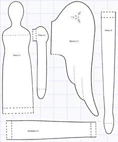 Куклы Тильда своими руками: выкройки | БЛОГ ДОМОХОЗЯЙКИ