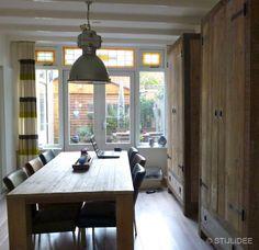 Binnenkijken in … een jaren 30 huis in Hoograven, Utrecht via www.stijlidee.nl