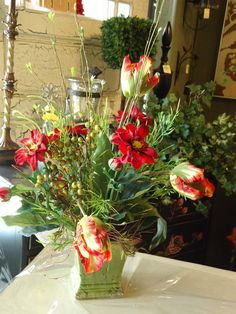 Love parrot tulips!