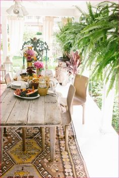 Inpirational outdoor interior bohemian style ideas 10