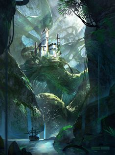 Compelling Environment Concepts by Claudio Pilia #conceptart #art #inspiration