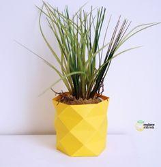 Des cache-pots originaux en papier - Meubles et objets - Pure Sweet Home