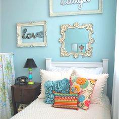 Tween-teen bedroom ideas for a girl
