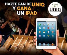 Gana un iPad con UNIQ!!!  16/10
