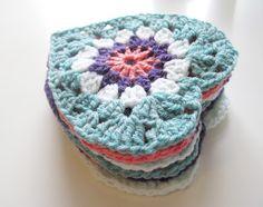 Granny Crochet Heart