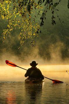 Kayaking | Morning paddling | Bourbeuse River, Ozarks, Missouri | Photo Robert Charity on 500px