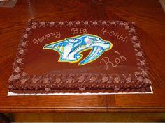 Nashville Predators Cake Sweetcakes UGA Birthday Georgia Bulldogs