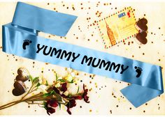 This personalised baby shower sash makes a great gift for any Mum to be. I bought one for my best friend and it came within 2 days! Baby Shower Sash, Yummy Mummy, All The Colors, My Best Friend, Great Gifts, Personalised Baby, Things To Come, Babyshower, Party