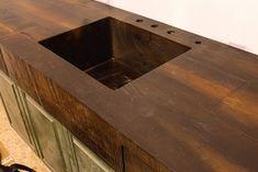 WoodForm Concrete® countertop – Unique and decorative concrete creations for home and commercial use. We invented WoodForm Concrete®. – NJ
