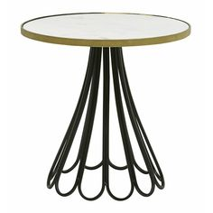 Vionnet Scalloped Side Table