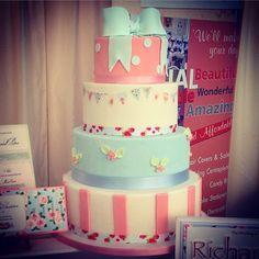 Cath kidson wedding cake