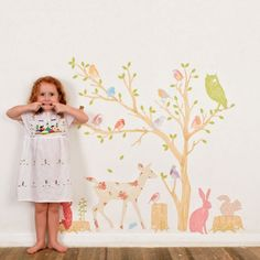 Love Mae Woodland Scene Girly