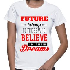 #Future belongs to those who #Believe in their #Dreams  by NAYAJewelrynFashion, $20.00