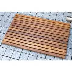 Merveilleux Teak Shower Bathmats By Stacks And Stacks     This Is Better