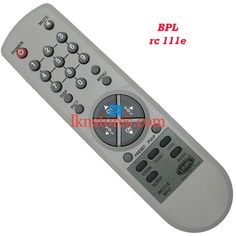 Buy remote suitable for BPL Tv Model: RC 111E at lowest price at LKNstores.com. Online's Prestigious buyers store.