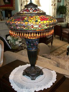 Lamp Shades – Clothing for Lamps Antique Glassware, Antique Lamps, Antique Lighting, Vintage Lamps, Stained Glass Mirror, Stained Glass Light, Leaded Glass, Cordless Table Lamps, Chandelier Lighting