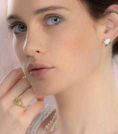 Raw diamond Ring 1.47 carat engagement ring Uncut by GefenJewelry