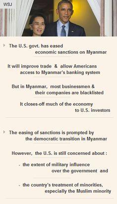 The #US gov't has eased economic #sanctions on #Myanmar #Asia #economicgrowth #vc #startup http://arzillion.com/S/zIvoUP
