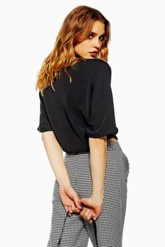 b5c54ee9693b0 Buckle Wrap Crop Shirt - New In Fashion - New In - Topshop