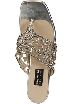 e49416a622 Rinaldi Silver Slippers Online Shopping Store Silver Slippers, Online  Shopping Stores, Your Style