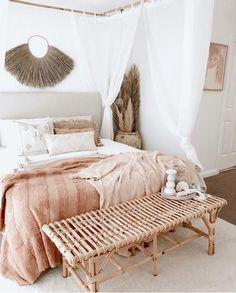 Bali Bedroom, Room Design Bedroom, Boho Bedroom Decor, Bedroom Inspo, Bedroom Designs, Bedroom Inspiration, Dream Bedroom, Bedroom Ideas, Living Room Decor Cozy