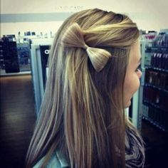 hair bow pin