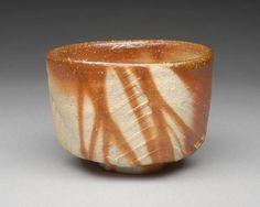 Artist: Jun Isezaki, Title: Rice Straw Tea Bowl  - click on image to enlarge