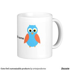 Cute Owl customisable products