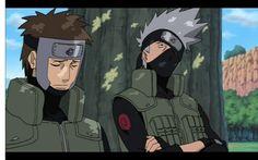 Yamato i Kakashi
