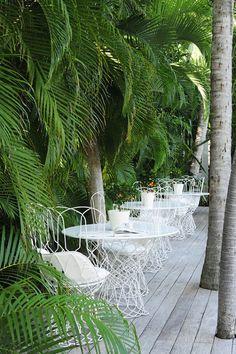 This furniture! Villa La Banane // Saint Barthélemy, The Caribbean. Outdoor Spaces, Outdoor Living, Outdoor Decor, Outdoor Curtains, Outdoor Kitchens, Outdoor Furniture, Cayman Islands, Barbados, Porches
