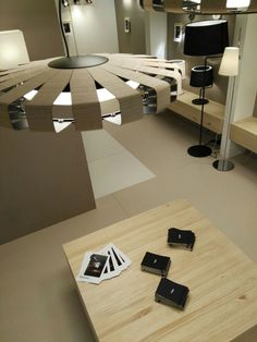PAULINE #wood #pendant Light Building, Led, Pendant Lamp, Conference Room, Table, Furniture, Home Decor, Pendant Chandelier, Wood