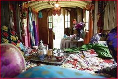 Glamping Trailers Interiors | Of chocolate and mangos: Trend....Gypsy Theme