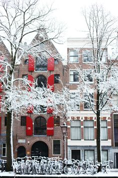 amsterdam in winter, brrr!