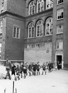 Bombs dropped in Greenwich - Old Woolwich Road School ww2