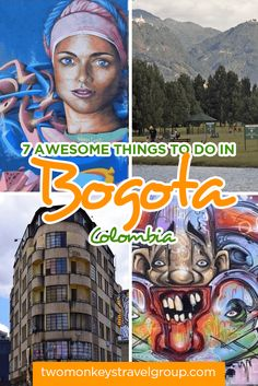 Bogota is a city where graffiti artists can earn fame alongside sculptors, with more cycle path than most cities and enough food to keep you busy for days.