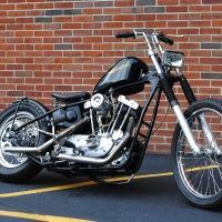Chop Cult - villagehooligan's classified listing - 1978 Engine fully rebuilt, fresh cut valves, new pistons and new bottom end, engine is extremely clean Kickstart only chopper, no electric start. Starts first kick. S&S Super E carb Mooneyes air cleaner cover Crane electronic ignition Paughco hard ta...