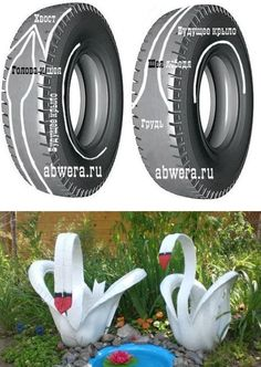 Best 12 20 Genius Ways to Repurpose Old Tires Into Something New And Exciting Diy Bottle, Bottle Crafts, Garden Crafts, Garden Projects, Tyres Recycle, Repurpose, Colchas Quilt, Tire Craft, Tire Garden