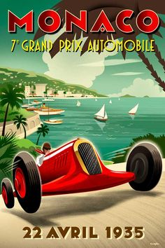 30 Vintage Posters of Racing Sports