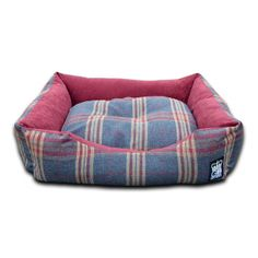 GB Pet Beds Country Check Mayfair Granite Sofa Dog Bed