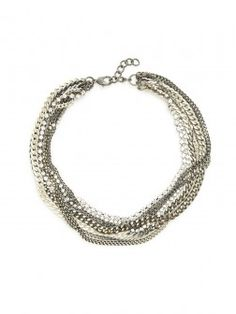 Collared Frenzy Necklace